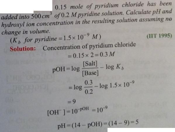 68 Ionic equilibrium dissociation constant