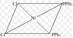 7 Ni(CO)4 is tetrahedral Ni(PPh3)2Cl2 is square planar