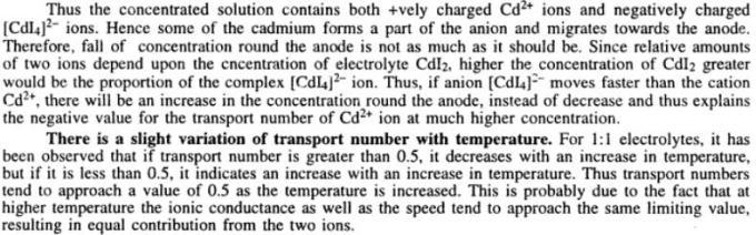 7 Transport Number or Transference number