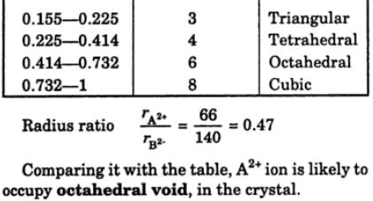 7 what is meant by radius ratio