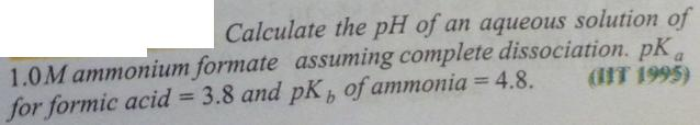 77 Ionic equilibrium dissociation constant