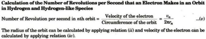 8 Calculation of number of revolutions per second