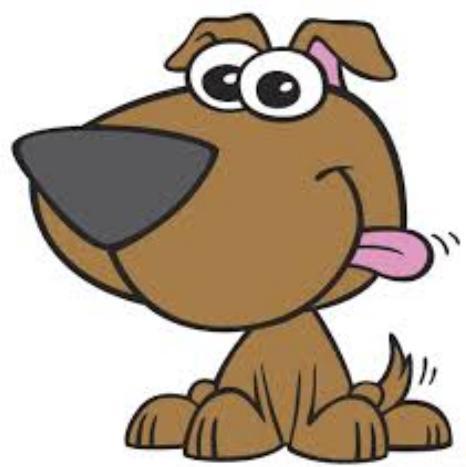 8 cartoon Puppy