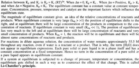 8 Chemical Equilibrium Gyan