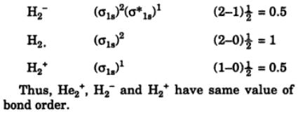8 Define bond order bond energy bond length