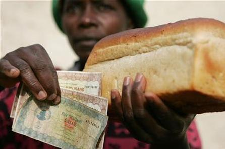 8 Loaf of bread for Trillions in Zimbawe