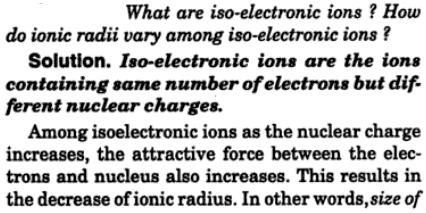 8 what are iso-electronic ions