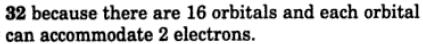 8 what are the possible values of l for an electron