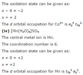 9.23 3 Co-ordination compounds std 12 CBSE textbook