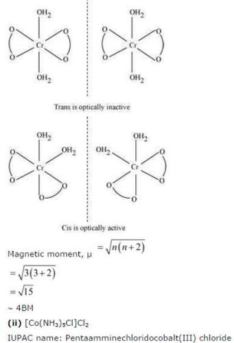 9.24 2 Co-ordination compounds std 12 CBSE textbook