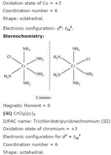 9.24 3 Co-ordination compounds std 12 CBSE textbook