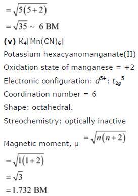 9.24 5 Co-ordination compounds std 12 CBSE textbook
