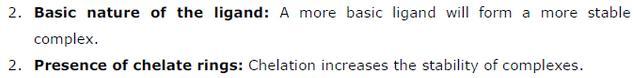 9.25 2 Co-ordination compounds std 12 CBSE textbook