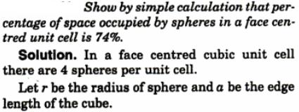 9 calculate and show that percentage space occupied