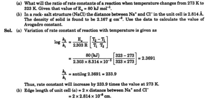 9 ration of rate constants of a reaction