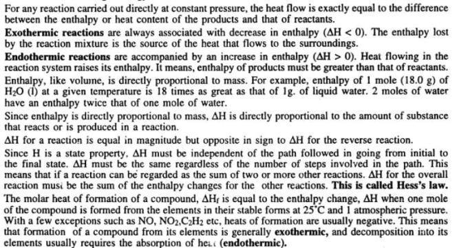 9 Thermochemistry Gyan