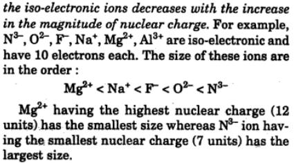 9 what are iso-electronic ions
