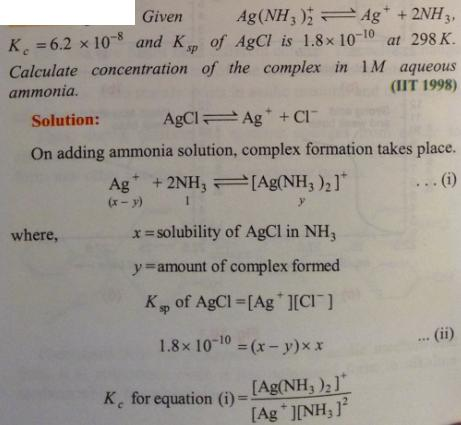 90 Ionic equilibrium dissociation constant