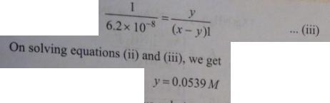 91 Ionic equilibrium dissociation constant