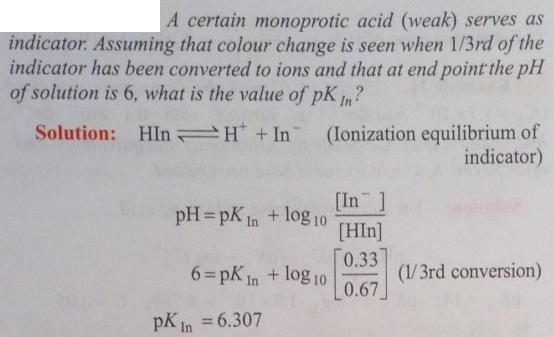 94 Ionic equilibrium dissociation constant