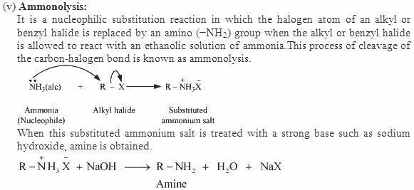 Ammonolysis