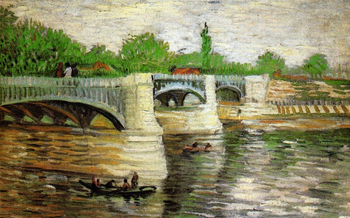 another Bridge by Vincent Van Gogh