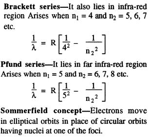 Brackett Pfund series sommerfield concept