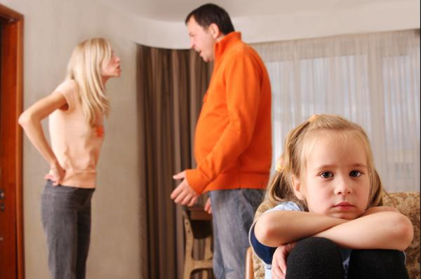 child custody father mother fighting