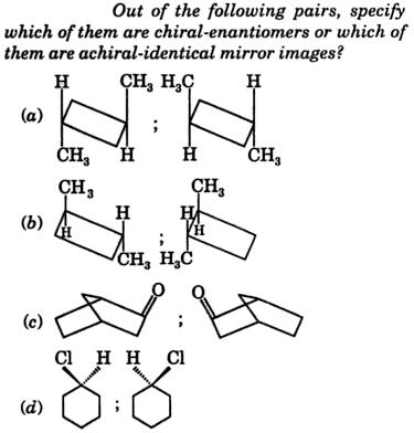 Chiral enantiomer example 1