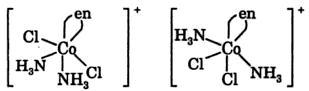 [CoCl2(en)(NH3)2] NO3 IUPAC name co-ordination Compound 2