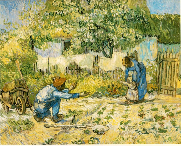 Father calling Daughter Vincent Van Gogh