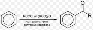 Fridelcraft acylation example 15.4