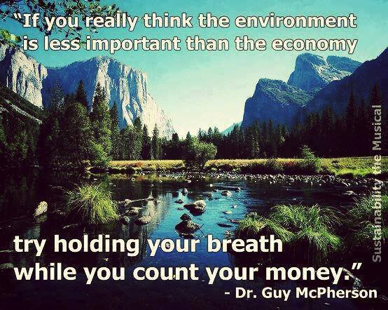 hold your breath while you count your money