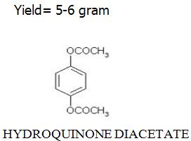 Hydroquinone di-acetate