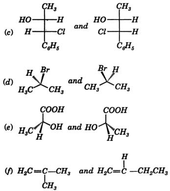 identify what kind of isomers 2