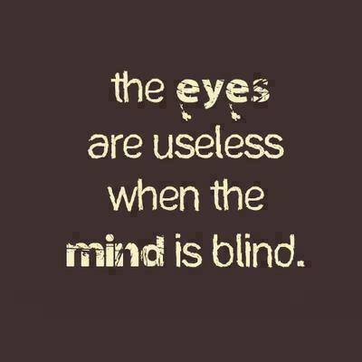 is your mind blind