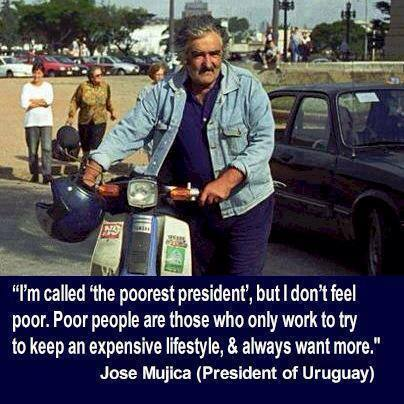 Jose Mujica president of Uruguay