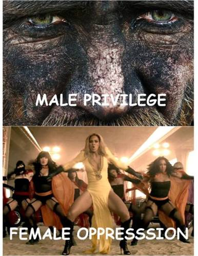 Male privilege Female oppression