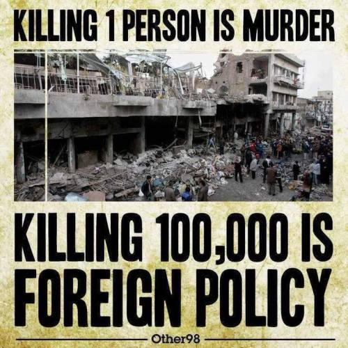 murder and foreign policy