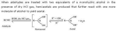 NCERT CBSE 12.1 Solution 2-2 Acetal
