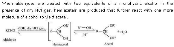 NCERT CBSE 12.1 Solution 2-2 Acetal