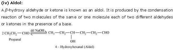 NCERT CBSE 12.1 Solution 4 Aldol