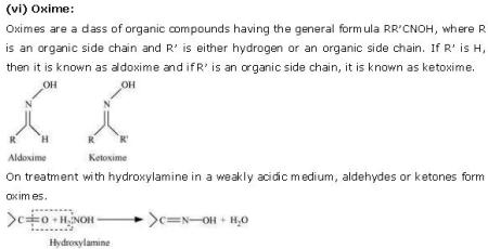 NCERT CBSE 12.1 Solution 6 Oxime