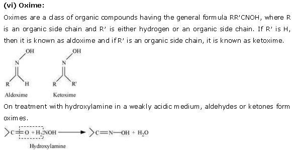 NCERT CBSE 12.1 Solution 6 Oxime