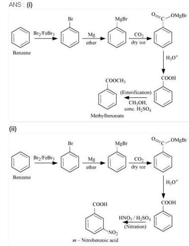 NCERT CBSE 12.14 1 Solution Compounds of Benzene.