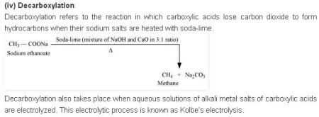 NCERT CBSE 12.16 3 Solution Decarboxylation