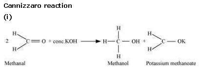 NCERT CBSE 12.7 2 Solution Cannizzaro Reaction