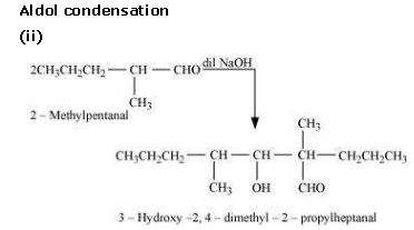 NCERT CBSE 12.7 3 Solution Aldol Condensation