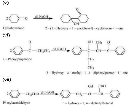 NCERT CBSE 12.7 5 Solution Aldol Condensation