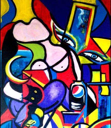 pablo picasso cubism with colours